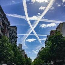 Auch hinsichtlich Chemtrails ist der Baske offensichtlich in erster Linie Künstler. (Agnieszka)