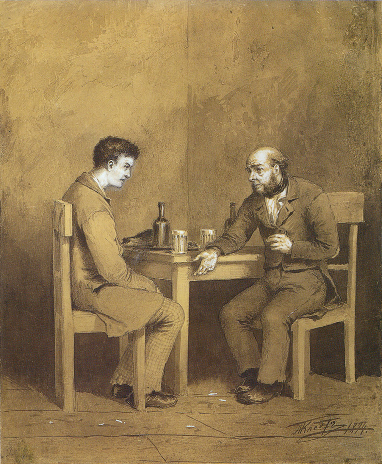 a description of fate in crime and punishment a novel by fyodor dostoyevsky Russian writer fyodor dostoyevsky wrote the classics crime and punishment and the brothers karamazov crime and punishment is one of his most well-known novels.