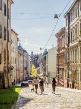 Lwiw, Lwów, Lemberg - hier der völkerfreundschaftlichen Einfachheit halber Lwiwberg genannt.