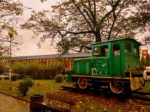 Herbstliche Eisenbahnimpressionen zum Abschied.